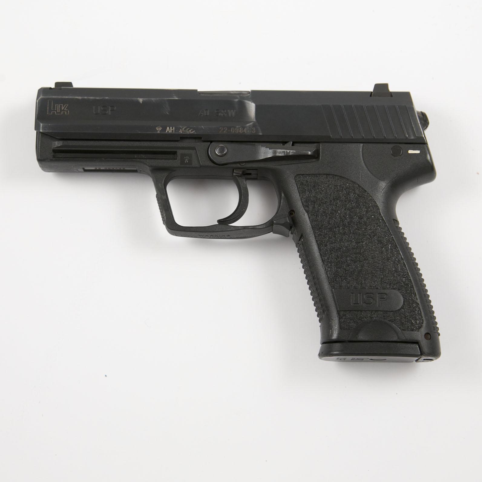 HK USP  40 Cal Pistol Police Trade-in