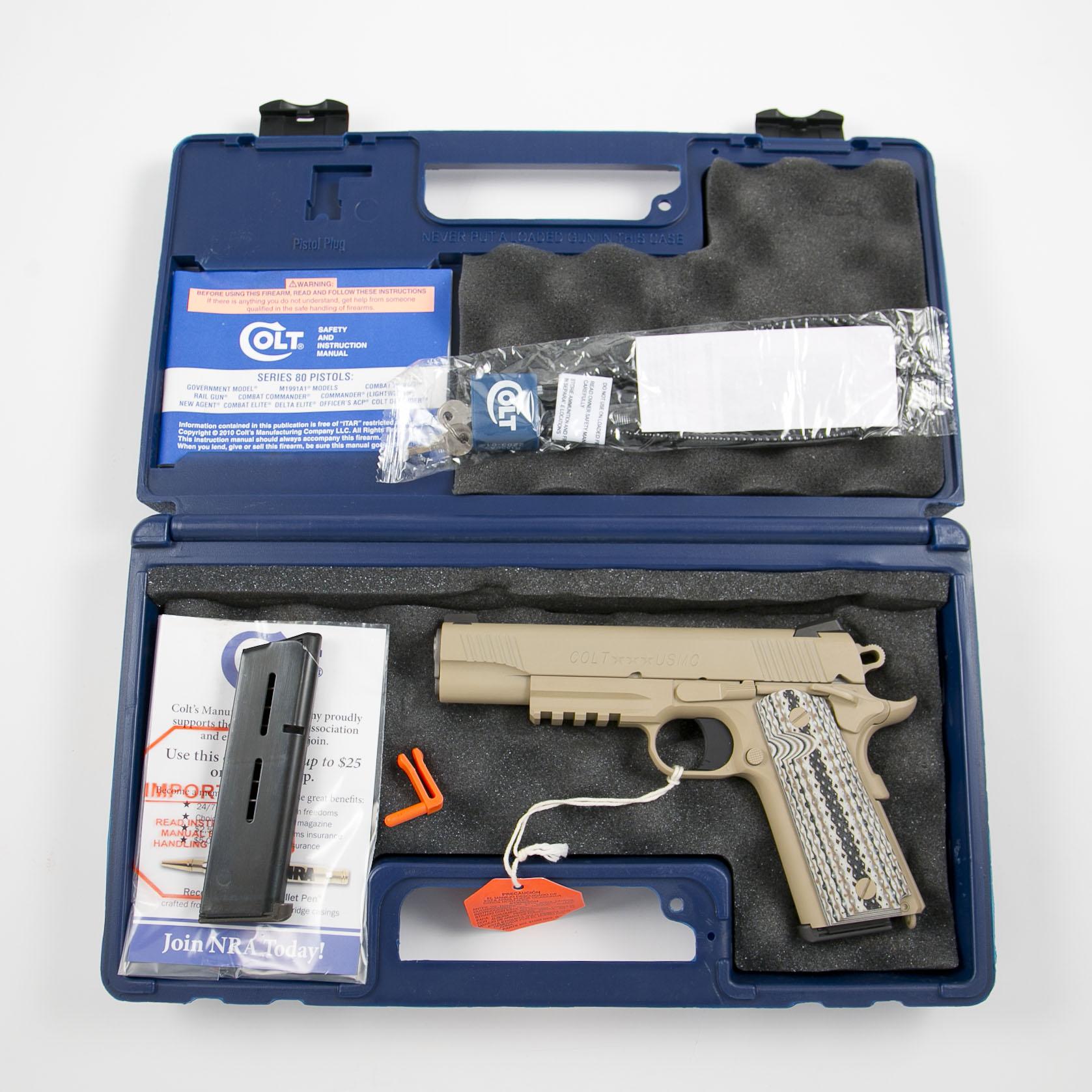 Colt - 1070M45 - Government Model w/Rail,
